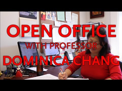 Open Office with Dominica Chang