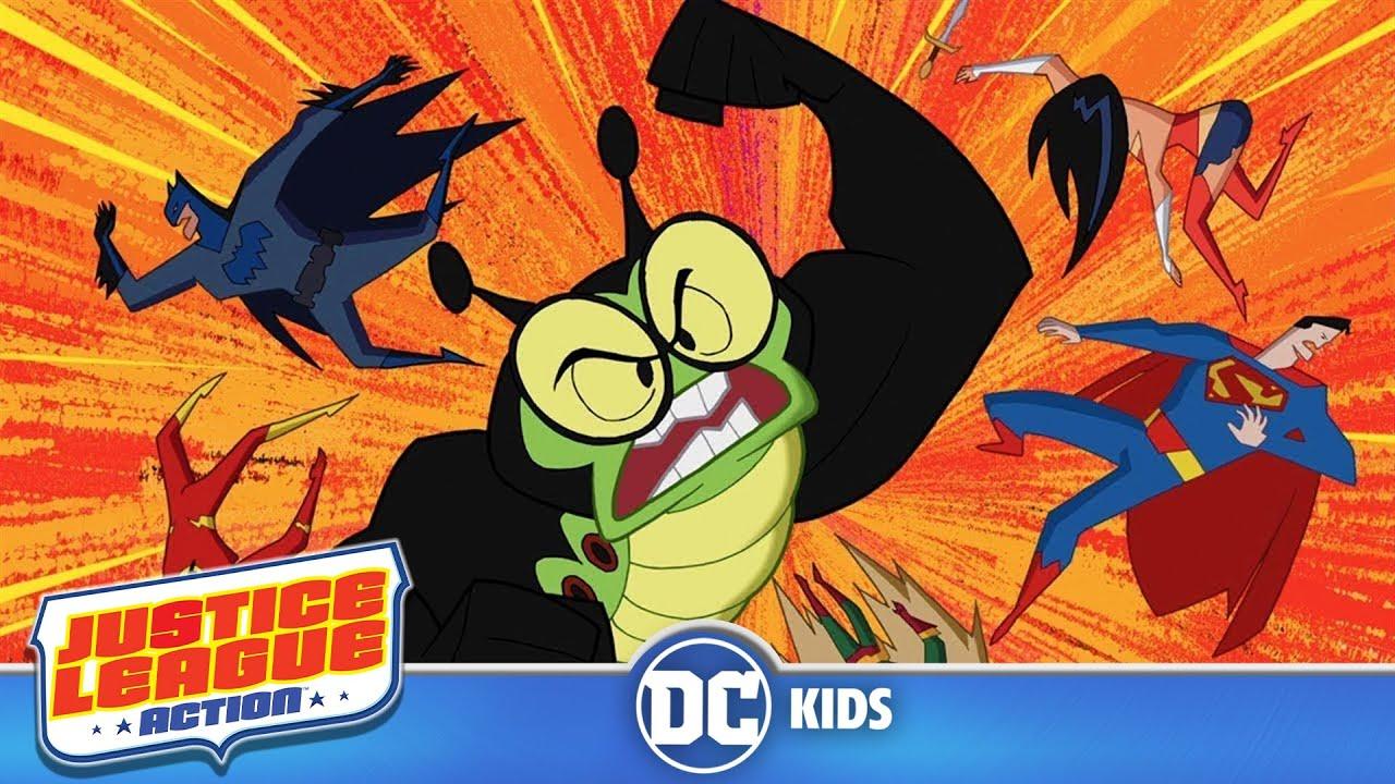 Justice League Action   Cash The Reward   DC Kids