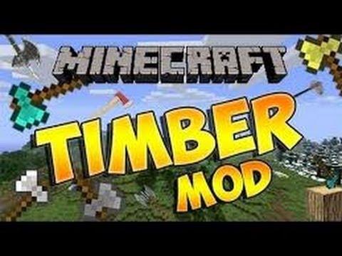Como baixar timber mod no minecraft 1 5 2 pirata youtube