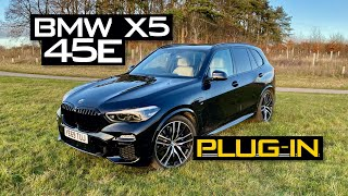 homepage tile video photo for 2020 BMW X5 xDrive 45e M Sport Review: Posh Plug-In Hybrid - Inside Lane
