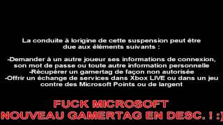 Flash HOST TU7 et Jinx Flaash Banni du XBOX Live - Nouveau gamertag!