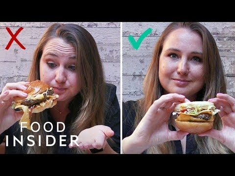 The Randy, Jamie and Jojo Show  - OK WHAT? ... Are You Supposed to Eat Burgers Upside-Down?