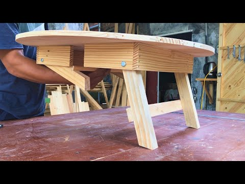 Amazing Woodworking Projects Idea  // Build A Picnic Table, Easy To Carry, How To, DIY
