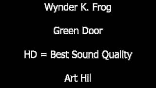 Wynder K Frog - Green Door
