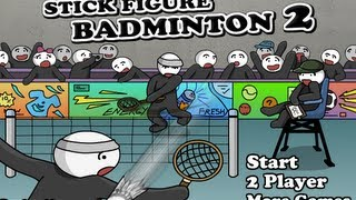 Stick Figure Badminton 2 Walkthrough