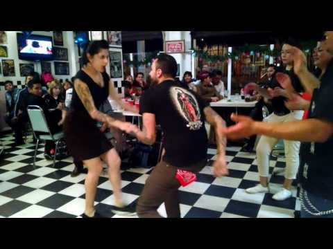 El baile con  Los rockets 55 by Armin Dancerbilly
