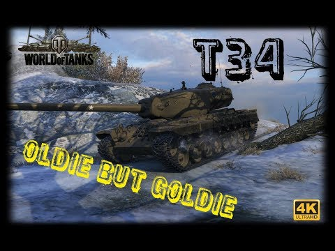 Let's Play World of Tanks | T34 | Oldie but Goldie [ German - Gameplay - Deutsch ]