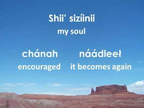 Precious Memories (Lyrics in Navajo)