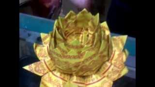 摺紙教學(祭拜往生者紙蓮花的摺法二)