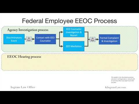 Federal Employee EEO Process: From Informal Complaint To Federal Court