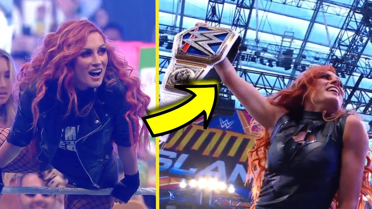 Becky Lynch Fans Want Her to Be Sasha Banks' WWE SummerSlam ...