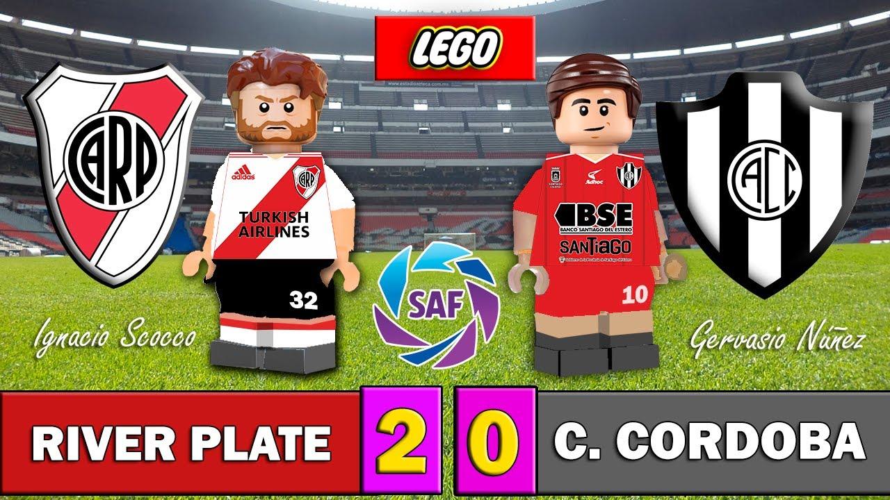 River Plate 2-0 Central Córdoba - SuperLiga Argentina - Modo LEGO - Stop Motion - Resumen y Goles
