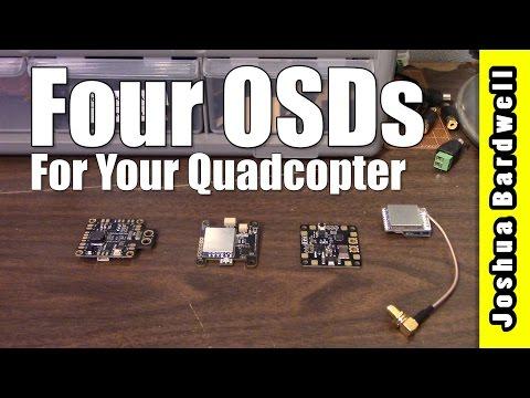 OSD SHOWCASE | Four Interesting Ways To Put an OSD On Your Quadcopter