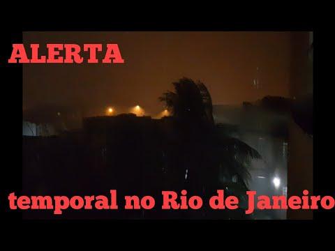 VOCÊ ACREDITA EM DEUS? ESTÃO ASSISTA ESSE VÍDEO!!!   temporal no Rio