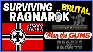 HoI4 - Man The Guns - Challenge Survive BRUTAL Ragnarok! - Part 30 - Naval Invasion Madness!