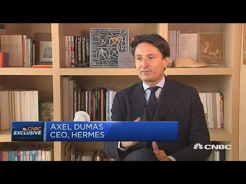 Hermes CEO: Great demand for luxury buying long term | Squawk Box Europe