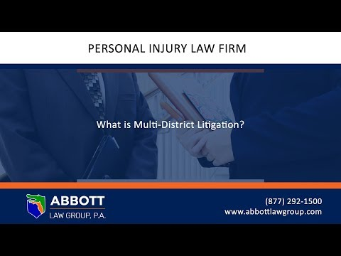 What is Multi-District Litigation?
