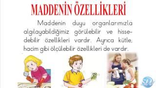 Madde - 4. Sınıf Fen Bilimleri