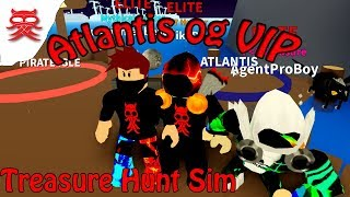 Atlantis - Treasure Hunt Sim - Dansk Roblox