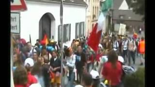 Giubileo 2005, Colonia ITALIA UNO!!
