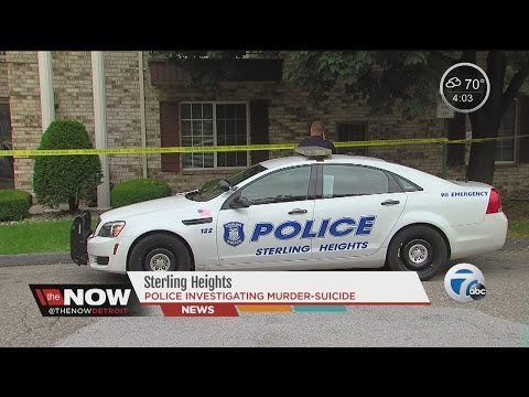 Murder suicide in Sterling Heights