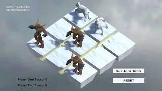 FantasyTac#Tics Toe - Core Mechanics Demo
