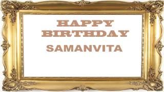 Samanvita   Birthday Postcards & Postales - Happy Birthday