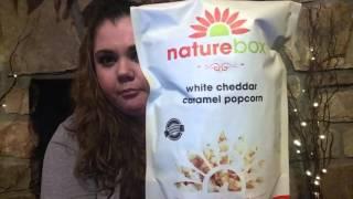 My first Naturebox unboxing video/  taste test!!!
