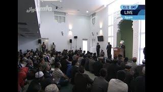 Freitagsansprache 29. März 2013: Einweihung der Baitur Rahman Moschee in Valencia, Spanien