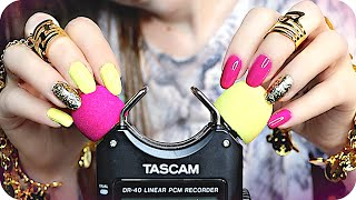 ASMR 20+ TASCAM Triggers 💖 (NO TALKING) Brain Melting Sounds to help YOU Sleep, Study & Tingle ✨