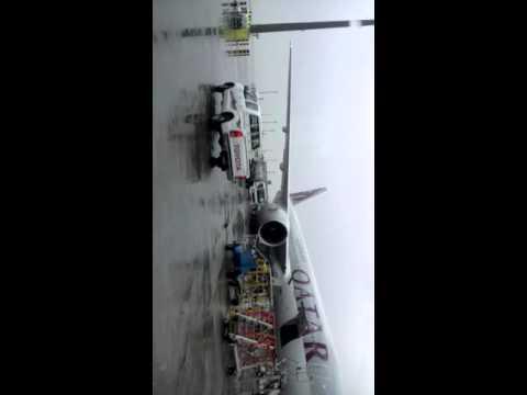 doha airport my fast plane journey