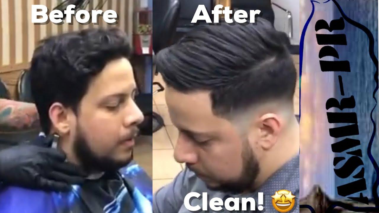 asmr puerto rico needed haircut
