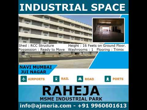 Raheja Industrial Park offers Industrial unit in Navi Mumbai, Industrial space for rent in Navi Mumb
