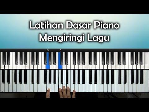 Latihan Dasar Piano Mengiringi Lagu | Rohani Piano Keyboard