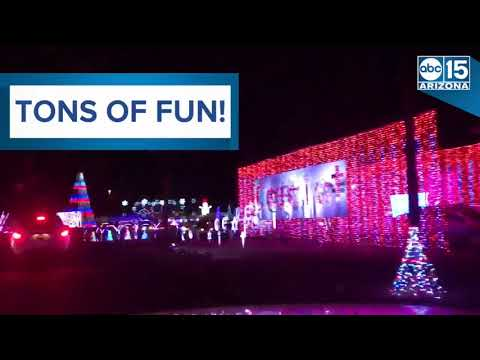 Illumination AZ! Arizona's longest and brightest holiday light display - ABC15 Digital