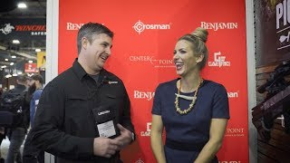 Eva Shockey Interview with Crosman - Shot Show 2018