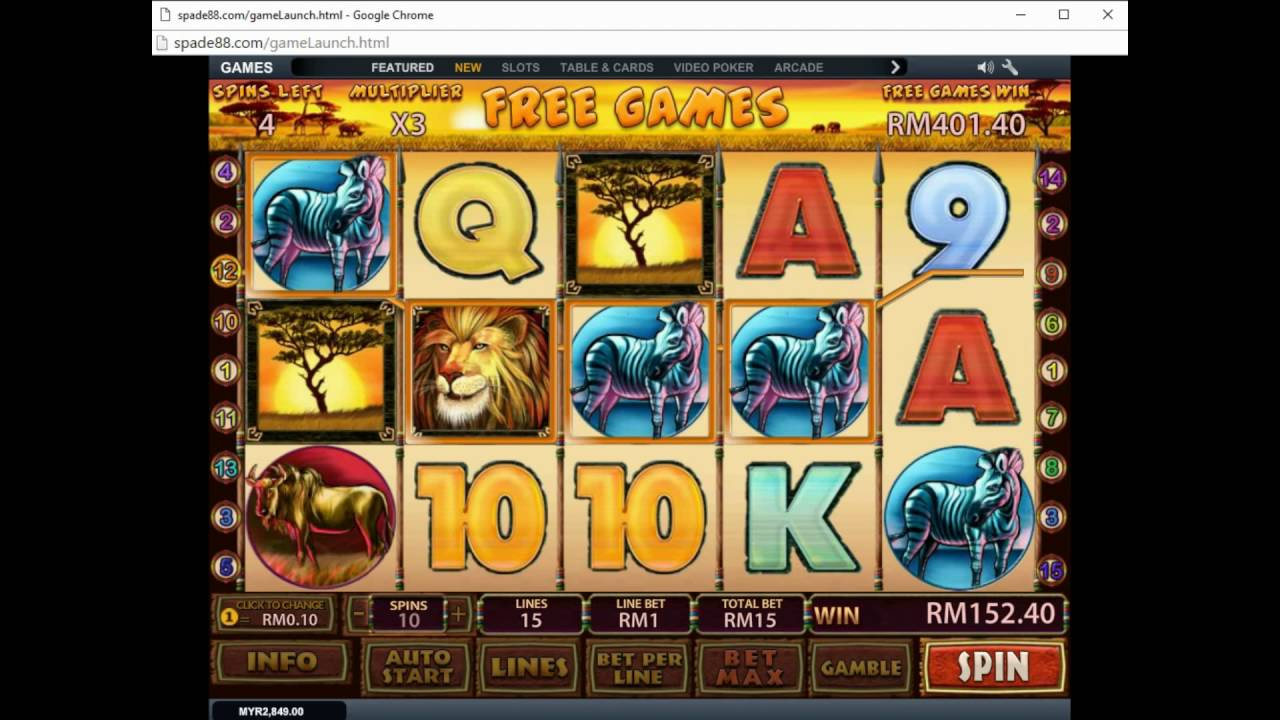Safari casino slot fiesta rancho casino and hotel