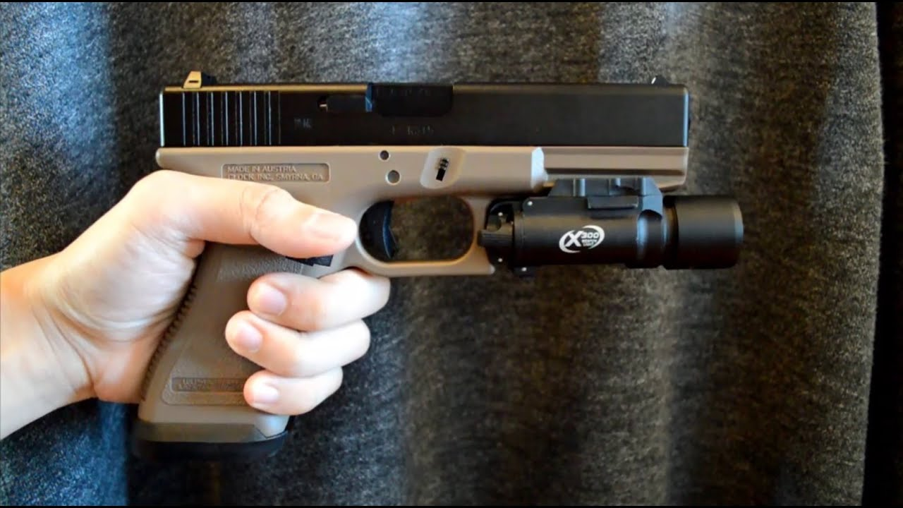 Airsoft) Tokyo Marui Glock 18c with PGC Metal Slide and Guarder ...