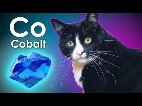 Cobalt - A METAL FROM CAT'S LITTER!
