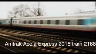 Amtrak Silver Meteor, Acela Express, Keystone At Linden Station, Nj