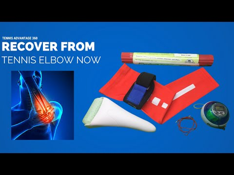 How to fix Tennis Elbow (Tendonitis) – Pain Relief & Rehab
