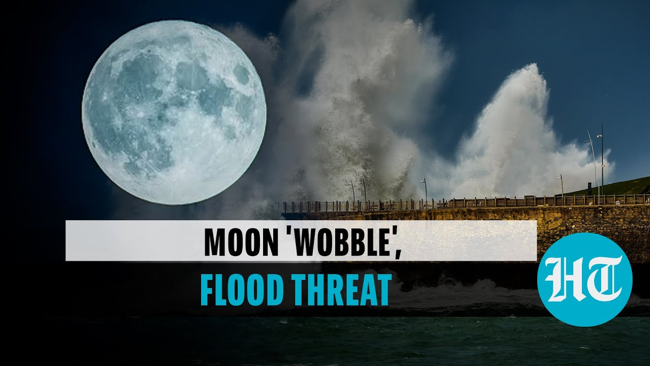 """NASA: Moon """"wobble"""" in orbit may lead to record flooding on Earth"""