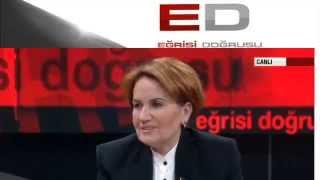 Meral Akşener-CNN Türk Eğrisi Doğrusu-Taha Akyol-22 MAYIS 2015