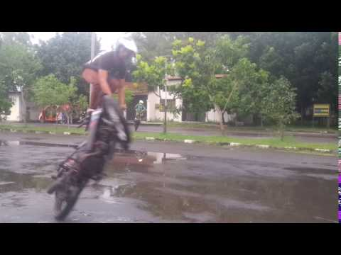 Freestyle mode circle podium,  stuntrider x IFC SOLO Ervan Yulianto [manahan]
