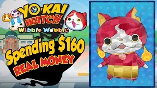 Yo-Kai Watch Wibble Wobble - Rewards For Spending $160 In REAL MONEY! [iOS Android Gameplay]