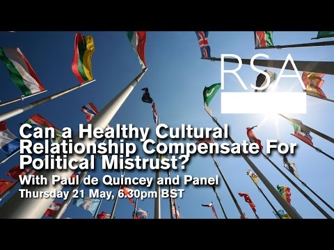 RSA Replay: Can a healthy cultural relationship compensate for political mistrust?