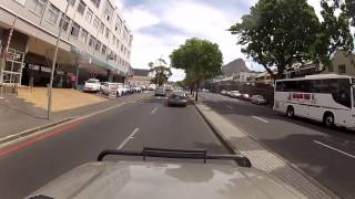Driving around Cape Town - V&A Waterfront to Camps Bay