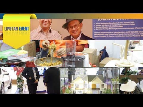 LIPUTAN EVENT - Habibie Festival, Jakarta International Food Expo, Indonesia Properti Expo 2017