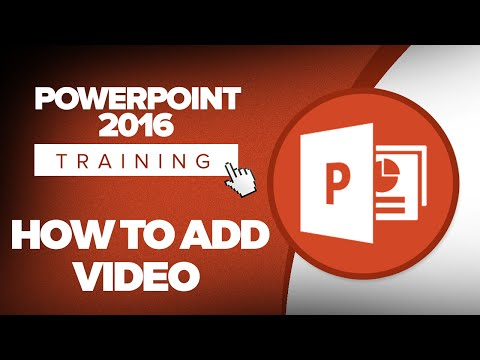 How to insert a video hyperlink in powerpoint