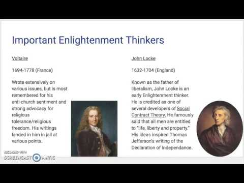 European Enlightenment